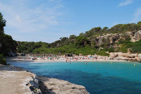 Mallorca beaches Cala-Llombards