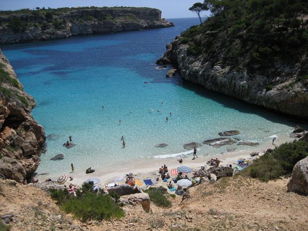 Calo-des-Moro beach Majorca