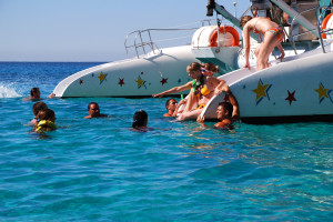 tour in Mallorca with catamaran