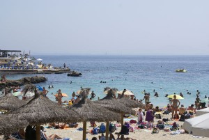 Illetas beach Mallorca