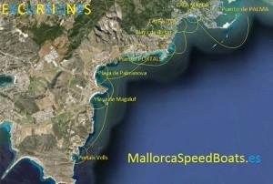 Mallorca speed boats