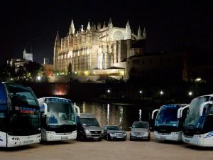 Majorca tours buses
