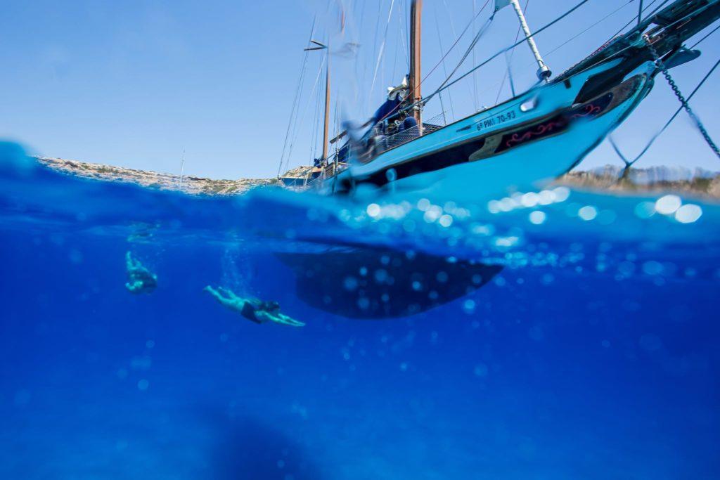 Majorca private sail boat