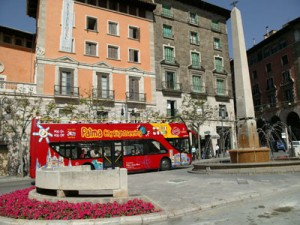 Palma Mallorca city sightseeing bus tour