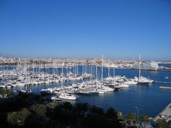 Port of Palma Mallorca
