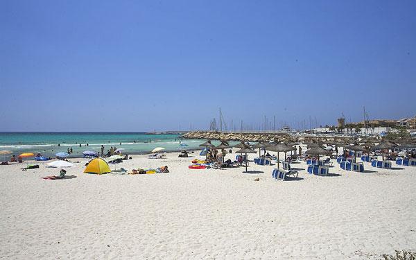 Sa Rapita Mallorca beach