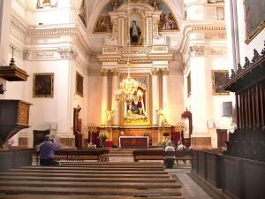 Valldemossa church